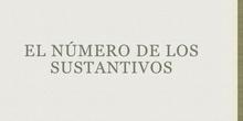PRIMARIA - 5º - EL NÚMERO DE LOS SUSTANTIVOS - LENGUA - FORMACIÓN