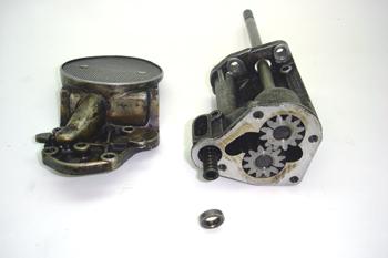 Bomba de aceite de engranajes. Montaje