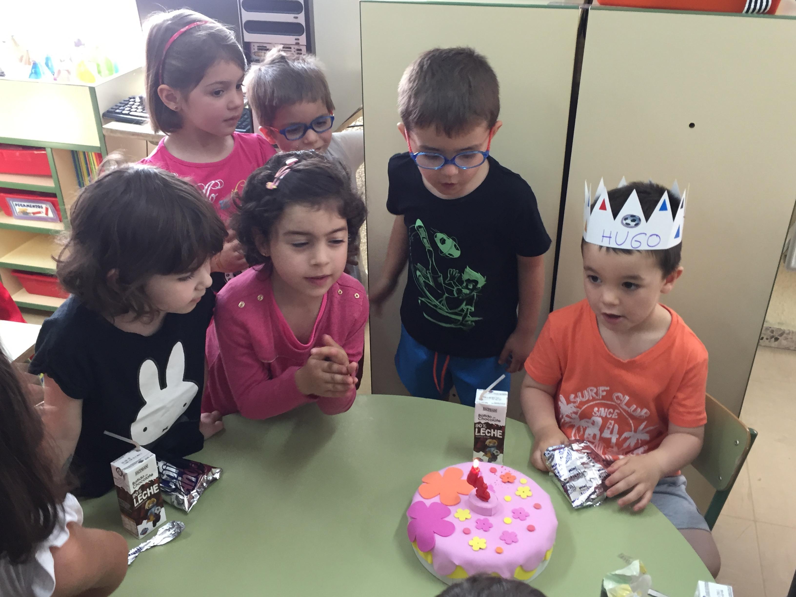 Cumpleaños Hugo