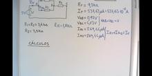 Resolución de un circuito mixto con tres resistores (parte 2)