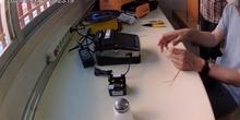 Fusionando fibra óptica