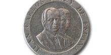 Pesetas,  Juan Carlos I y Felipe de Borbón, Cara