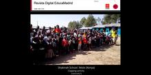 Clapping activity. Shakinah School. Molo (Kenya)