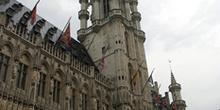 El Ayuntamiento en la Grand Place, Bruselas, Bélgica