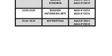 calendario examenes septiembre 2 bachillerato