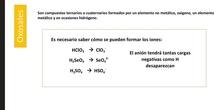 Oxosales nomenclatura