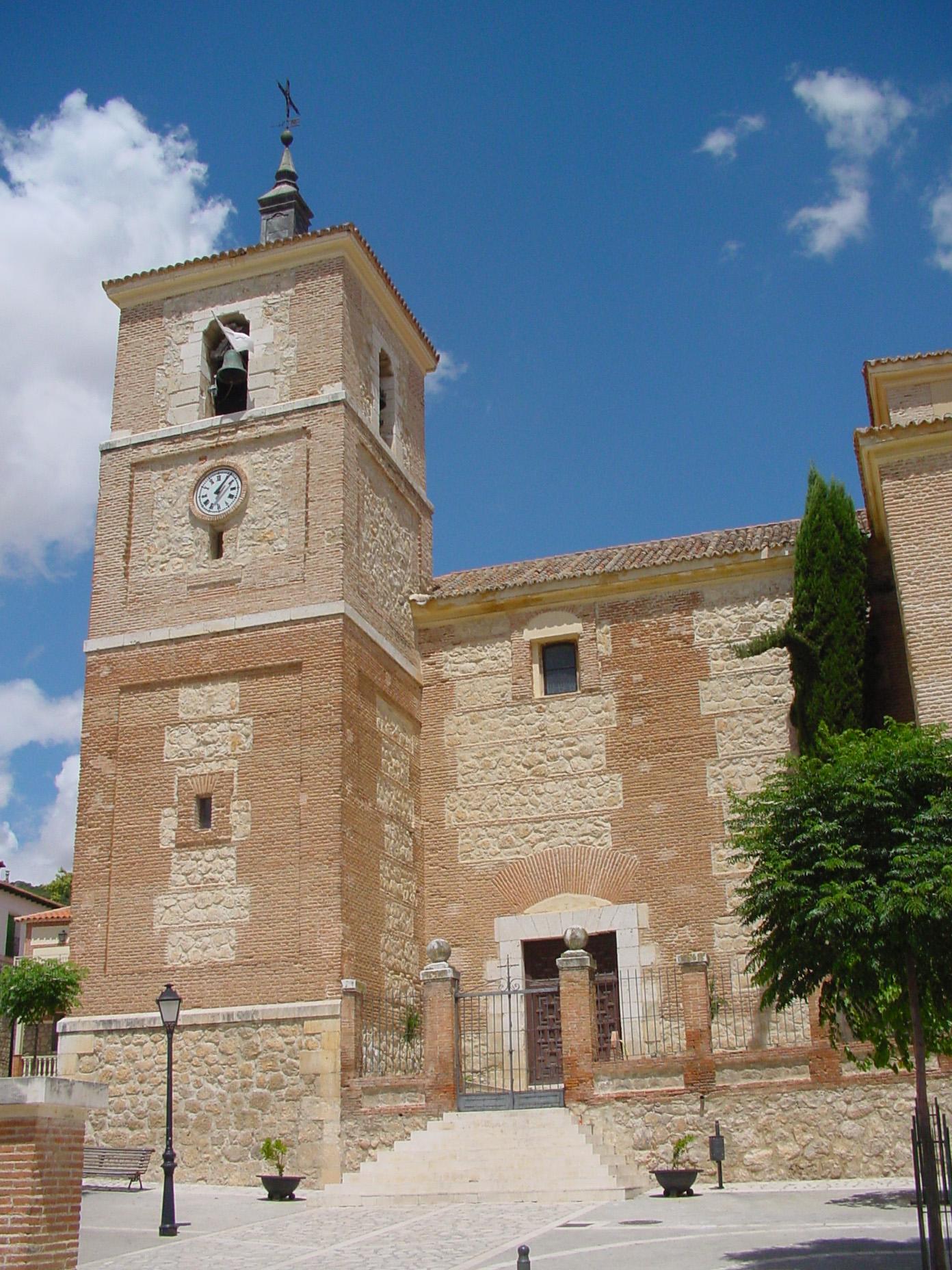 Parroquia de Santos Justos y Pastor en Tielmes