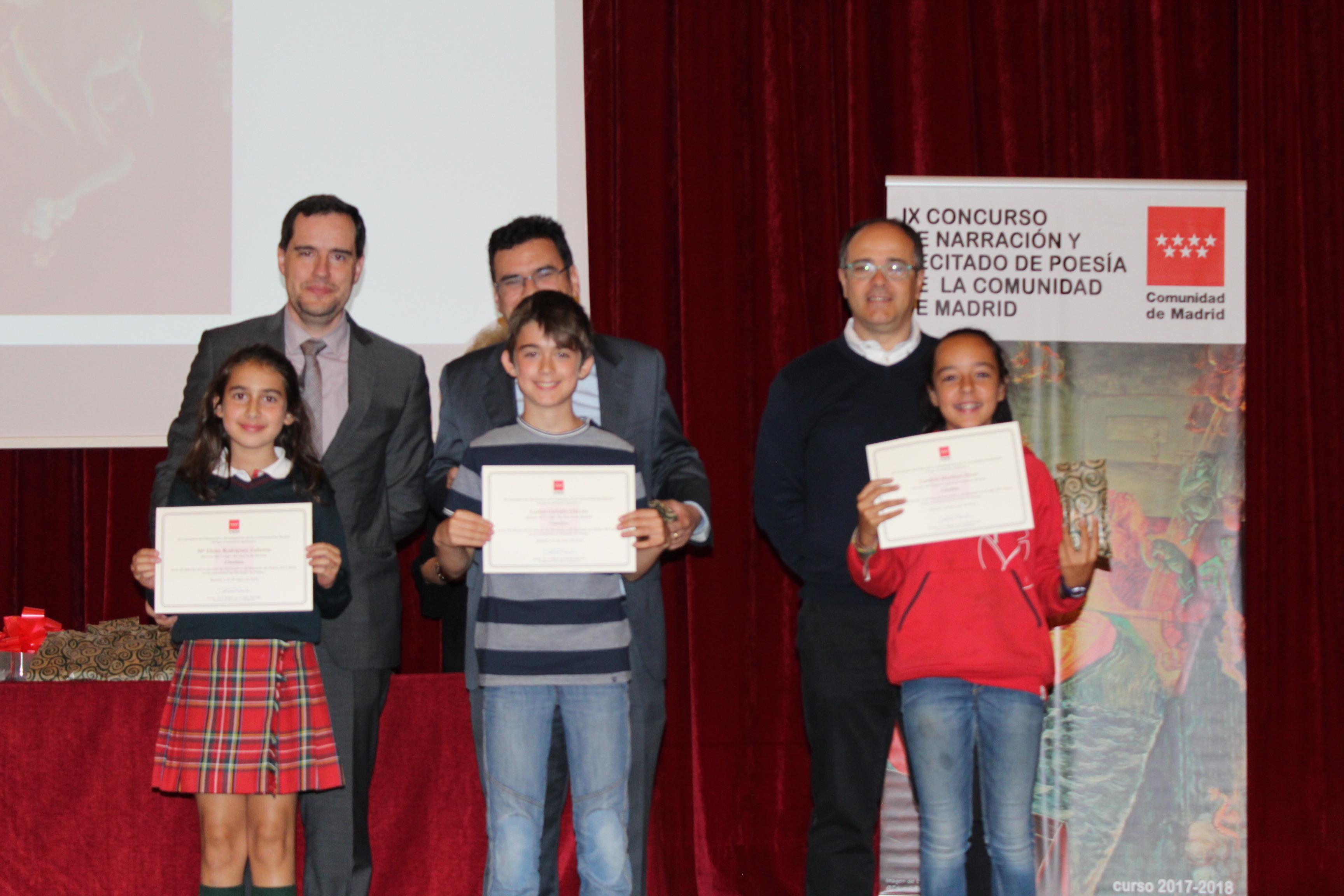 Entrega de los premios del IX Concurso de Narración y Recitado de Poesía 19