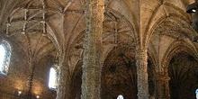 Interior del Monasterio de los Jerónimos, Lisboa, Portugal