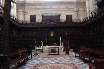 Coro de la Catedral de Cádiz, Andalucía