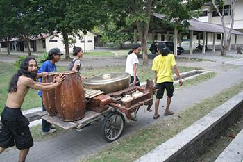 Instrumentos para ensayo, Jogyakarta, Indonesia