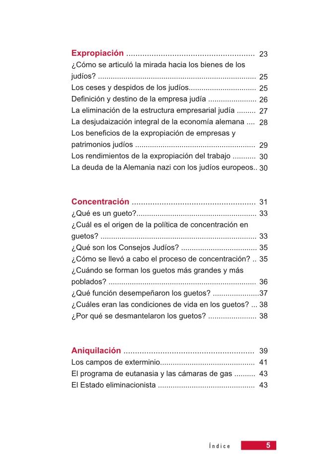 Página 5 de la Guía Didáctica de la Shoá