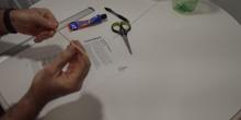 Hacer tubitos papel