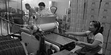 Fábrica de galletas, Indonesia