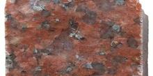 Granito rojo pulido