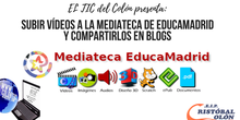 Tutorial: subir vídeo a Mediateca e incrustarlo en blog