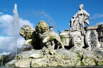 Estatua de la diosa Cibeles, Madrid