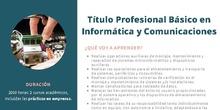 FPB Informática y Comunicaciones.