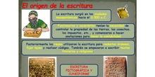 Taller de escritura cuneiforme y jeroglífica