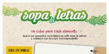 SOPA DE LETRAS RECICLAJE