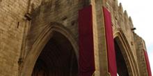 Pórtico de entrada de la Catedral de Tuy, Pontevedra, Galicia