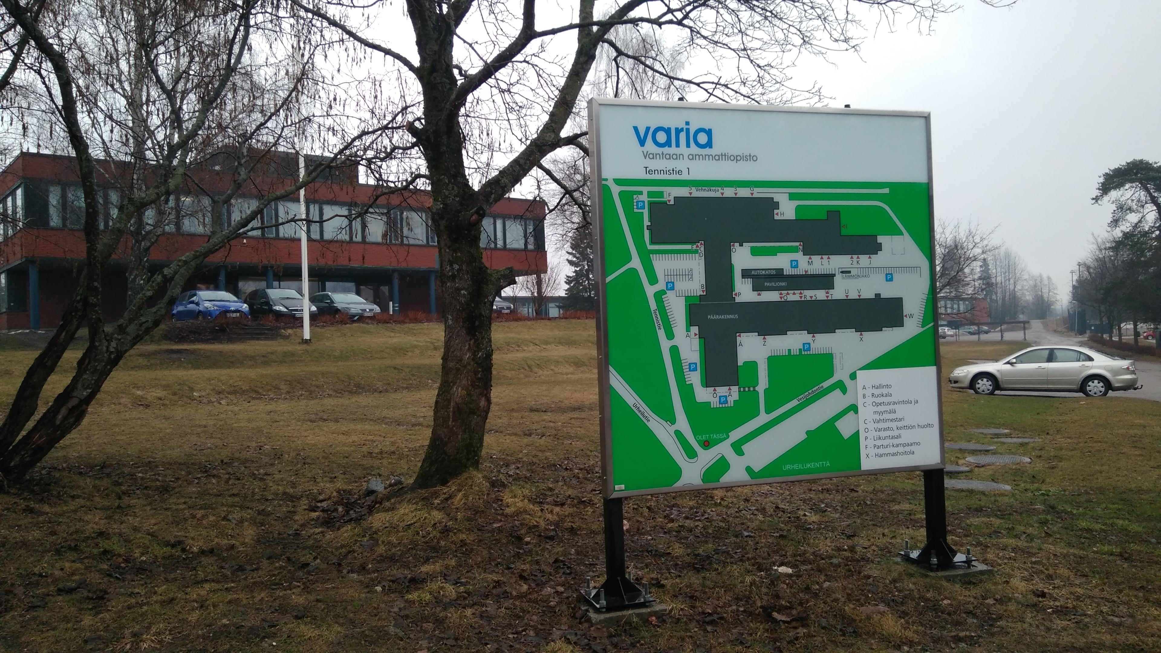 Vataan Ammattiopisto Varia. Finlandia. Erasmus +2018 8