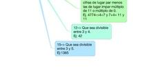 SECUNDARIA 1º A - MATEMÁTICAS - CRITERIOS DE DIVISIBILIDAD