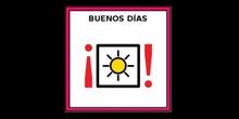 """Vídeo-Presentación """"Buenos días"""" con pictogramas de EDUCASAAC"""