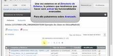 Directorio de Ficheros: Subir ficheros desde un zip. Mover y borrar ficheros