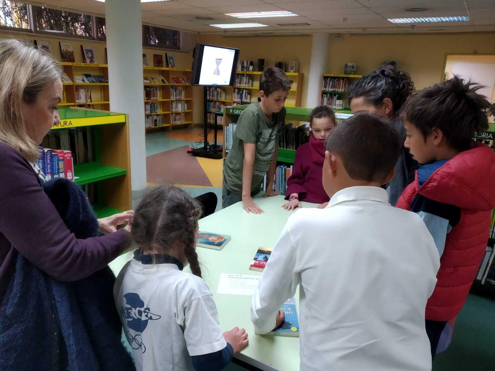 2019_04_04_Quinto visita la Biblioteca de Las Rozas_CEIP FDLR_Las Rozas