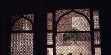 Celosías de mármol del Taj Mahal, Agra, India