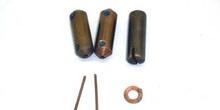 Electrodos para soldadura de clavos y arandelas