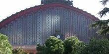 Fachada de la estación de Atocha, Madrid