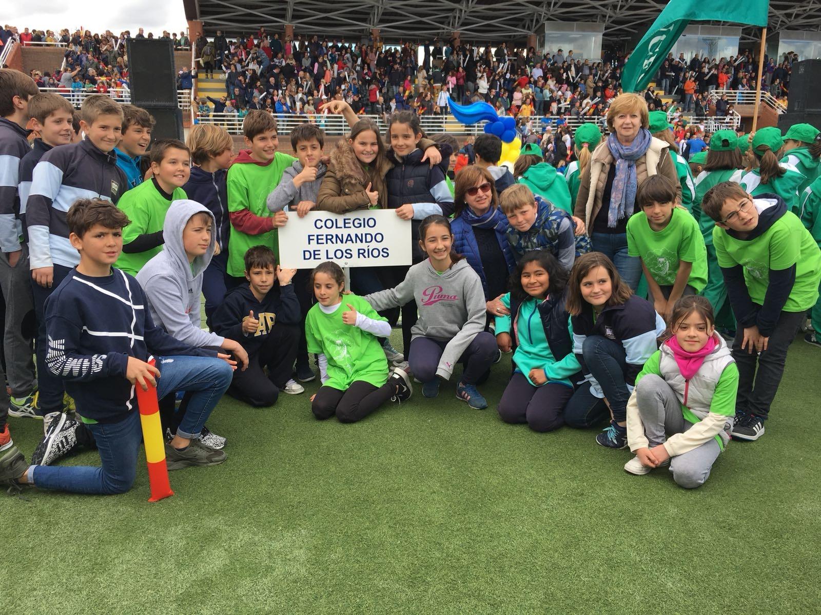 2018-04-09_Olimpiadas Escolares_CEIP FDLR_Las Rozas_Desfile 6