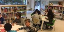 "Visita Biblioteca ""Luis Rosales"". 5º B"