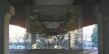 Móvil de acero, Museo de escultura al aire libre, Madrid