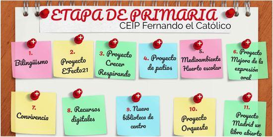 Ed. Primaria CEIP Fernando El Católico