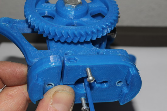 Soporte para extrusor de impresora 3D