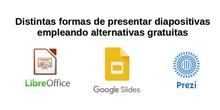 Tres formas diferentes al PowerPoint para hacer representaciones de diapositivas