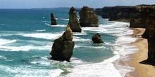Acantilado de los Doce Apóstoles, sur de Australia