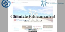 Cloud de EducaMadrid: qué es y cómo se utiliza.