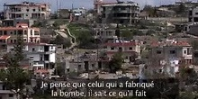 Victimes de bombes à sous-munitions