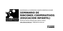 Rincones cooperativos actividad 1. Infantil 3 años