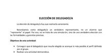 Elección de delegad@