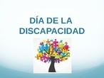 Día de la discapacidad 2