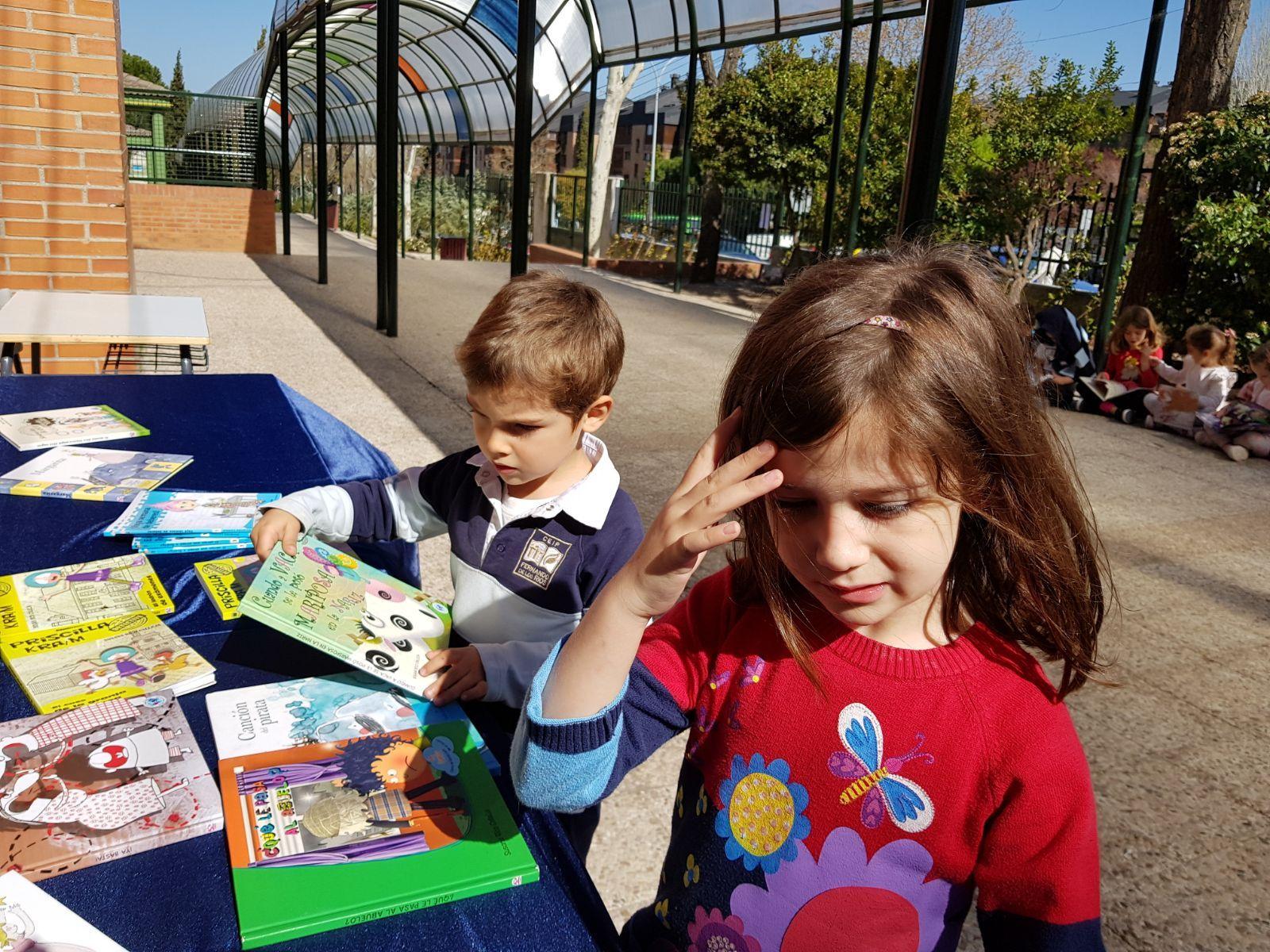 Infantil 5 años y la semana del libro 5