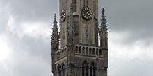 La Torre de la Atalaya o Torre Belfry, Brujas, Bélgica