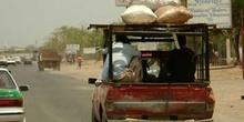 Vehículo en carretera, Rep. de Djibouti, áfrica