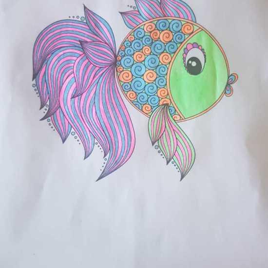 Vega Fish Mandala