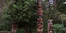 Totems, Cañón del Capilano, Vancouver